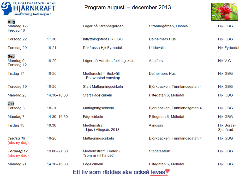 program aug-dec 2013  sida 1