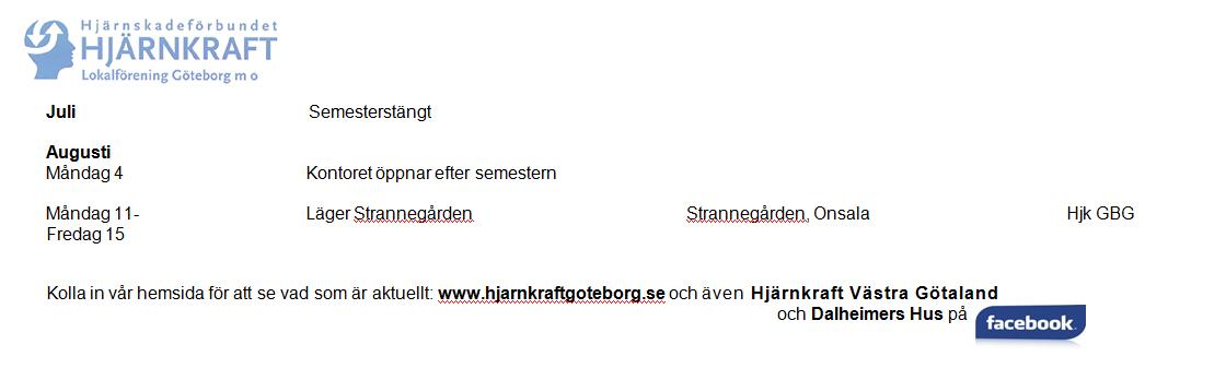 Program jan - augusti 2014 2